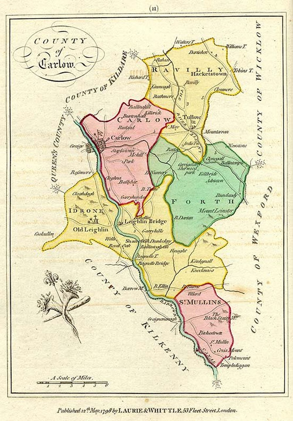 A Collection Of Maps And Drawings Of County Carlow