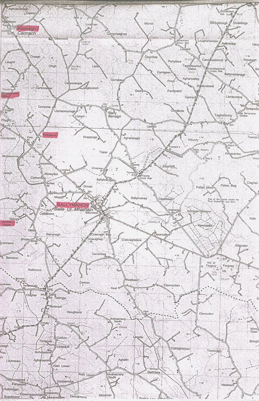 Map Of Ireland Longford.County Longford Ireland Genealogy Igp