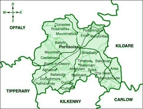 County Leix/Laois Townlands, Ireland