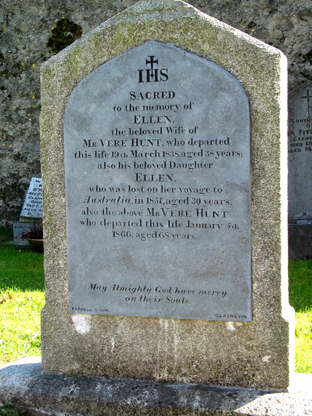 County Tipperary Tombstones
